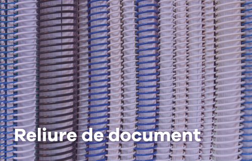 Reliure de documents
